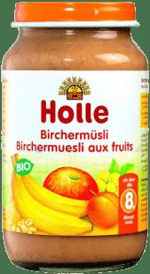 HOLLE Ovocné müsli - detská ovocná výživa, 220g