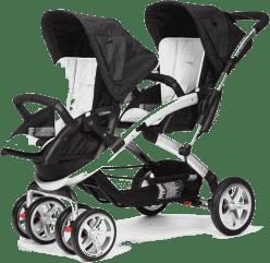 CASUALPLAY Wózek dla rodzeństwa Stwinner 2016 - Ice