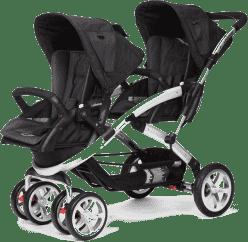 CASUALPLAY Wózek dla rodzeństwa Stwinner 2016 - Metal