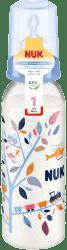 NUK Butelka do karmienia, PP 240ml, silikonowa, wielkość 1, kolor niebieski