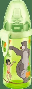 NUK FC Láhev PP Active Cup DISNEY-KNIHA DŽUNGLÍ,300ml,silikonové pítko – zelená