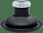 NUK FC Zapasowy ustnik Push-Pull silikonowy – kolor czarny