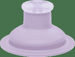 NUK FC Zapasowy ustnik Push-Pull silikonowy – kolor liliowy