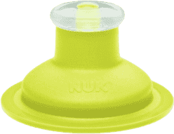 NUK FC Zapasowy ustnik Push-Pull silikonowy – kolor zielony