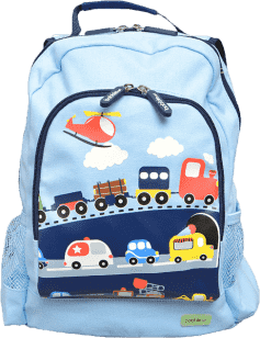 BOBBLE ART Dětský batoh velký Dopravní prostředky