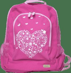 BOBBLE ART Dziecięcy plecak duży Serce