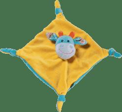 BABY ONO Hračka mazlíček - oranžovo/modrá 0m+