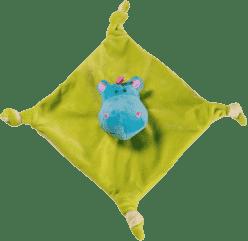 BABY ONO Hračka maznáčik - žlto-zelená, 0m+