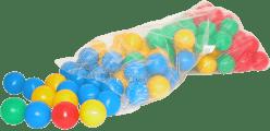 WIKY Kolorowe plastikowe piłeczki