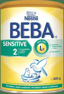 NESTLÉ BEBA 2 Sensitive (800g) - kojenecké mléko