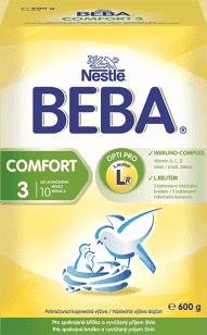 NESTLÉ BEBA COMFORT 3 (600g) - dojčenské mlieko