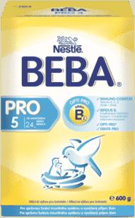 NESTLÉ BEBA PRO 5 (600g) - kojenecké mléko
