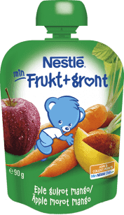 NESTLÉ Veggie Jablko, mrkva, mango 90g - ovocno-zeleninový príkrm