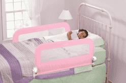 SUMMER INFANT zábrana na posteľ (oboustranná) - ružová