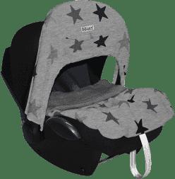DOOKY Zero+ clona Design Grey Stars