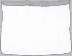 DOOKY Blanket deka Creme/Grey