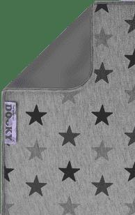 DOOKY Blanket kocyk Grey stars/Grey