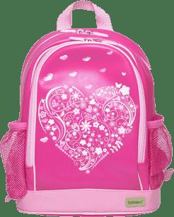BOBBLE ART Dětský batoh PVC Srdce