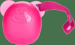 DIAGO Puzdro na cumlík opička ružová