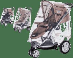 DIAGO Univerzální Komfort XL pláštěnka na kočárek 3v1