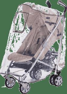 DIAGO Folia przeciwdeszczowa na wózek sportowy i spacerowy 2w1