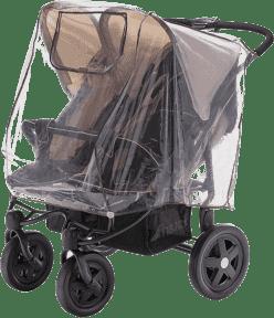 DIAGO Pláštenka na kočík pre dvojčatá - pozície vedľa seba