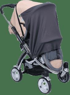 DIAGO Osłona do wózka / fotelika samochodowego – szara