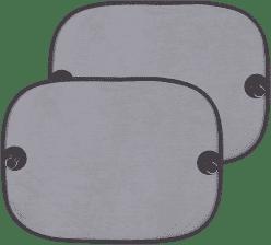 DIAGO Osłona przeciwsłoneczna na boczne / tylne okno samochodu – 2 szt.