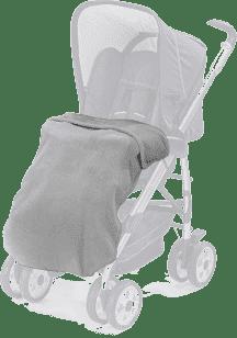 DIAGO Kocyk do wózka fleece - szary