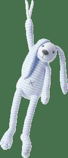 HAPPY HORSE Modrý pruhovaný králiček Reece Hudobné