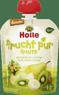 Expirácia 15.6.2016: HOLLE Bio ovocné pyré hruška, 90g