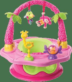 SUMMER INFANT Super siedzonko 3w1 różowe