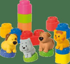 CLEMENTONI CLEMMY baby - Zvieratká a farebné kocky