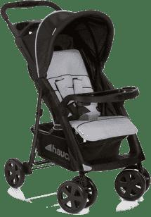 HAUCK Wózek spacerowy Shopper Comfortfold black/silver 2016