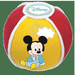 CLEMENTONI Mickey - mäkký loptu so zvukovými efektmi