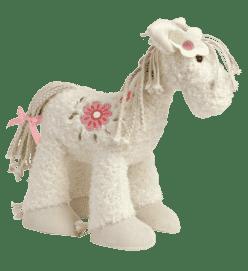 HAPPY HORSE Koník Biely