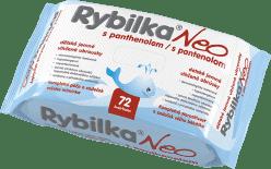 HBF Rybilka NEO s Panthenolom 72 ks - vlhčené obrúsky