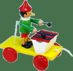 MIVA Vacov Zabawka na sznurku Pinokio