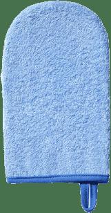 BABY ONO Žínka na mytí froté – modrá