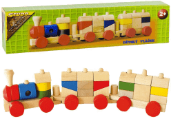 STUDO WOOD Vlak malý