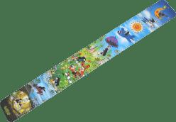 WIKY Meter detský papierový na stenu