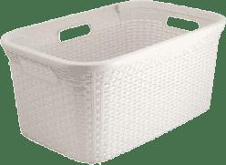 CURVER Kosz na pranie Natural Style 45l, biały