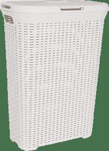 CURVER Kosz na pranie Natural Style 60l, biały