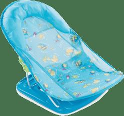 SUMMER INFANT Koupací sedačka modrá