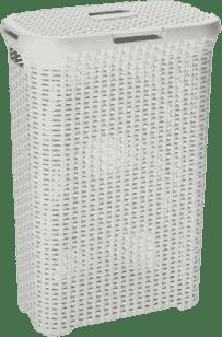 CURVER Koš na prádlo Natural Style 40l, bílý