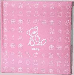Dziecięcy fotoalbum na 200 fotografii (10 x 15 cm) – różowy