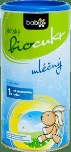 BABIO dětský BIO mléčný cukr 180g