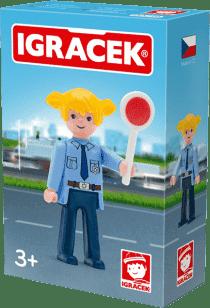 IGRÁČEK Policistka s doplňky