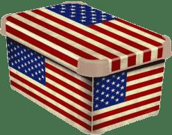 CURVER Pudełko do przechowywania USA S