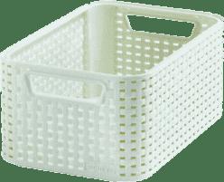CURVER Košík My Style Box M, bílý